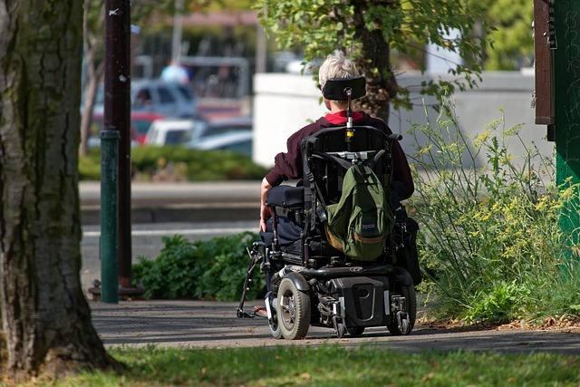 elektryczne wozki inwalidzkie